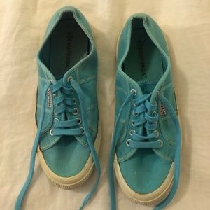 Superga Turquoise Sneakers
